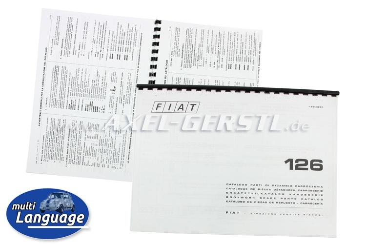 Catalogo ricambi carrozzeria, copiato DIN A4