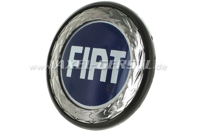 Wheel cover Fiat, on blue, 42/54 mm