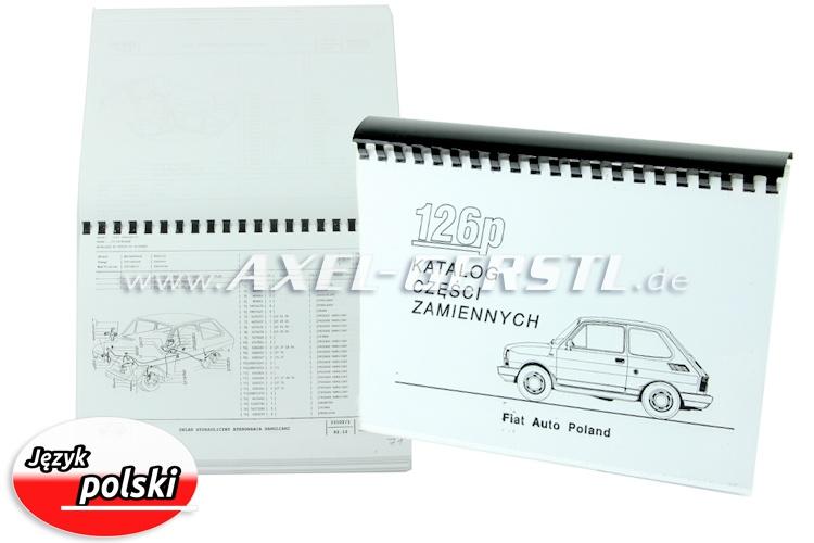 Catalogo ricambi meccanica, copiato DIN A4 (polacco)