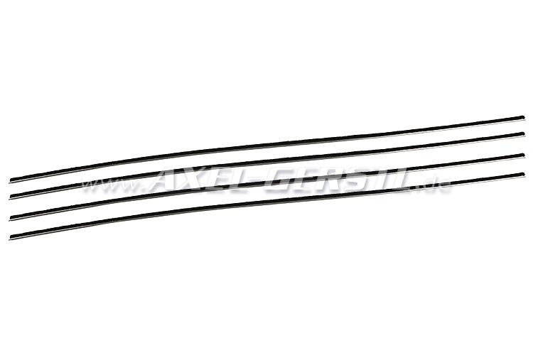 Serie guarnizioni per cristalli abbassabili, sx e dx