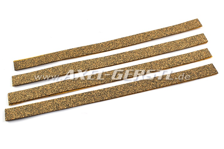 Cork base set for fuel-mounting-bands (4 pieces)