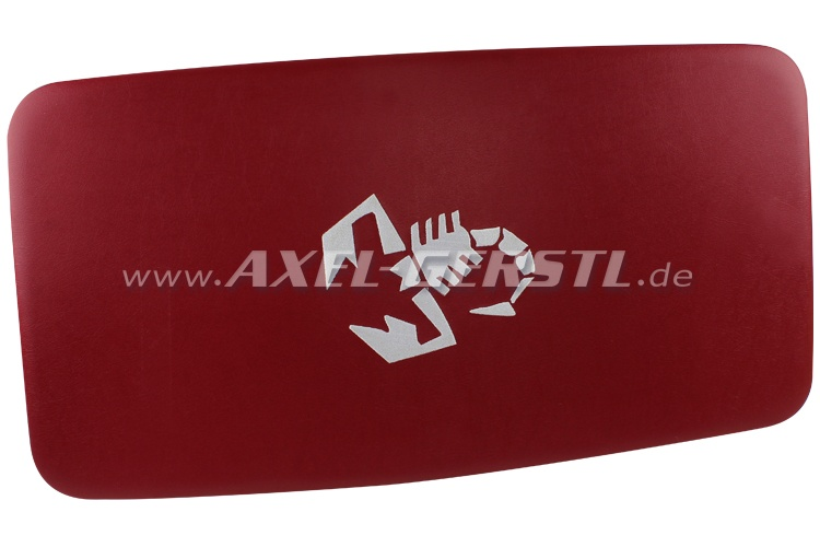 Himmel (Kunstleder bezogen & gepolstert) Skorpion rot/weiß