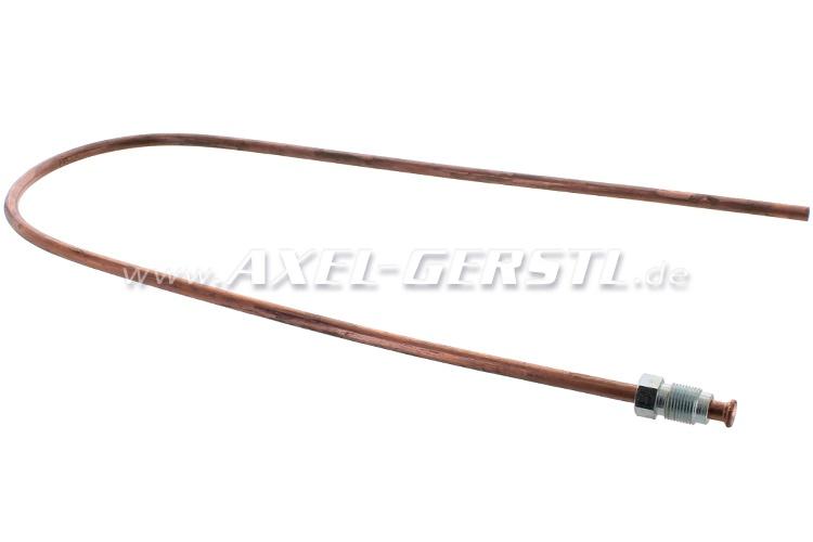 Brake line (copper) for brake fluid tank / main brake cyl.