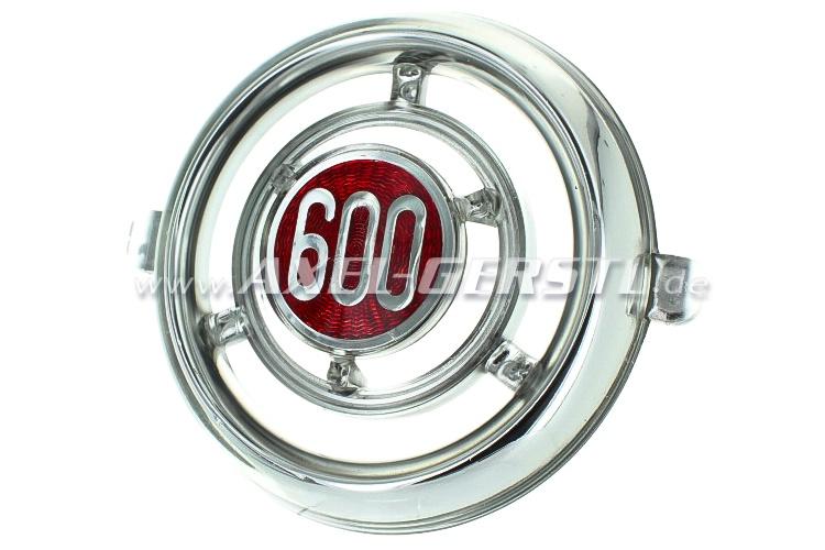Front badge round 600