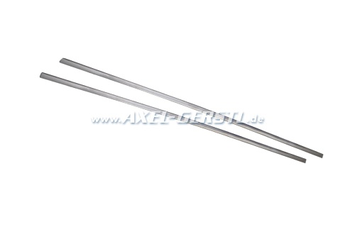 Trim-strip for sill, aluminum, in pairs