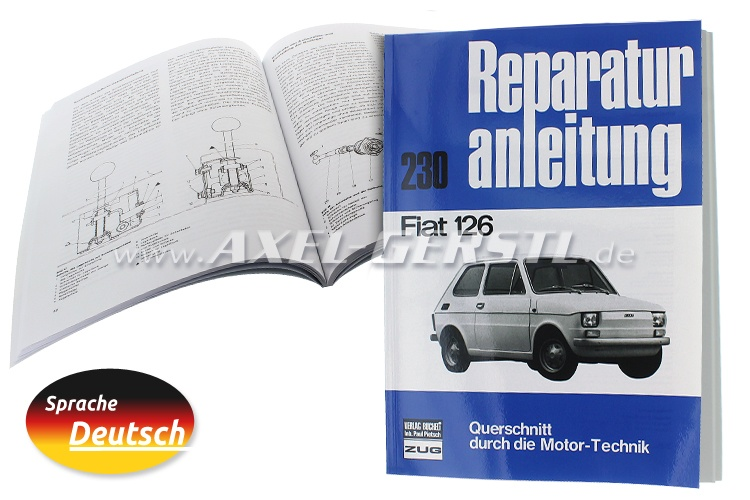 Repair-guide, Nr. 230, 94 pages A4 format (German)