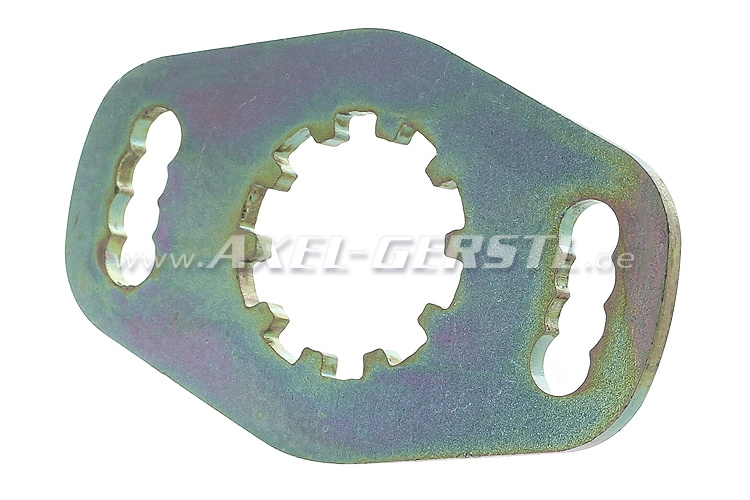 Adjustment plate for steering box