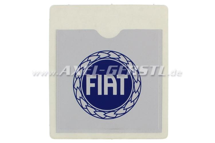 Dokumententasche FIAT Porta Assicurazione, selbstklebend
