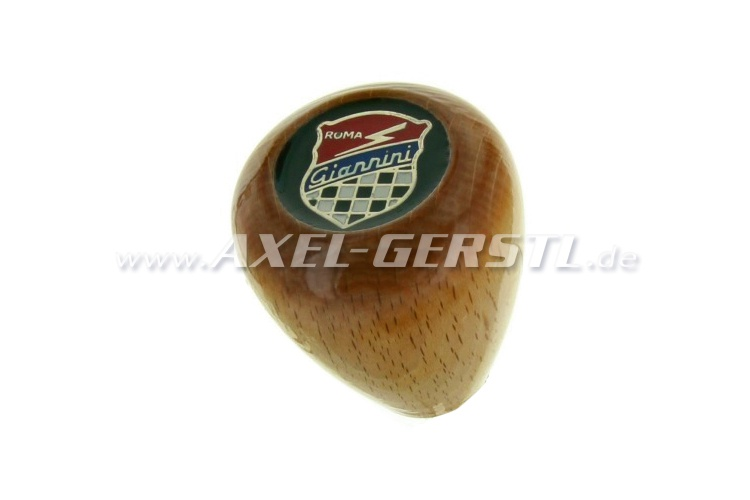 Wooden shift knob Giannini, short