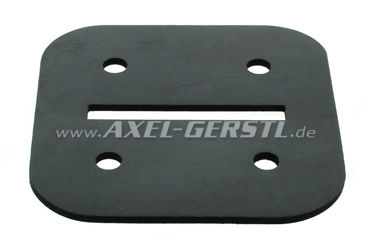 Heater flap (rubber)