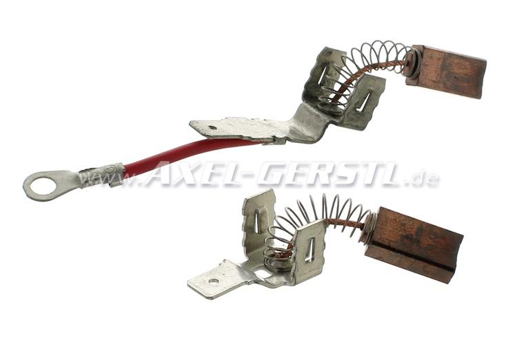 Serie di spazzole per alternatore (al paio)