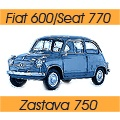 Fiat 600/Seat 770/Zastava 750