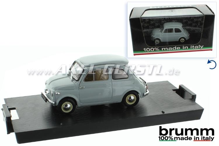 Model car Brumm Steyr Puch 500 D (1959) , 1:43, pearl gray