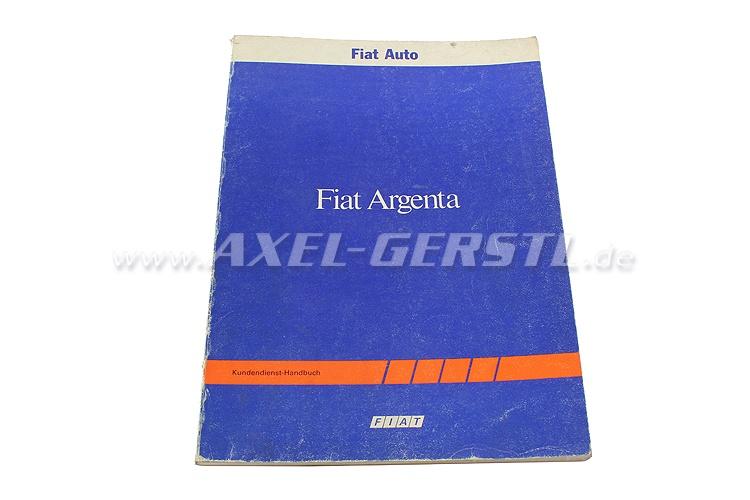 SoPo: Kundendienst-Handbuch Fiat Argenta