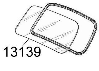 Parebrise (417 x 1130 mm)