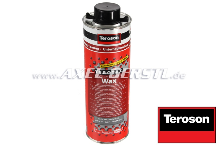 Underbody coating Terotex-Wax, anthracite, cartridge, 1 l
