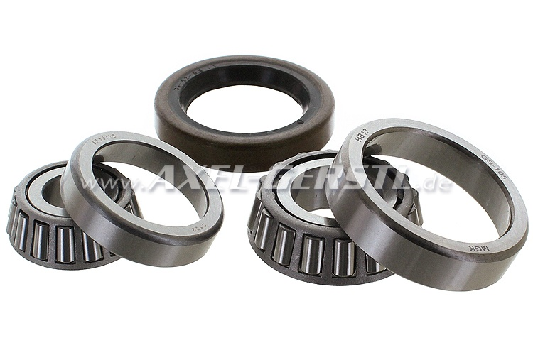 Set of front wheel bearings, for 1 side