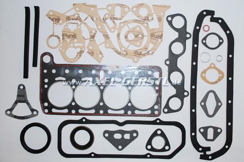 Set of engine gaskets