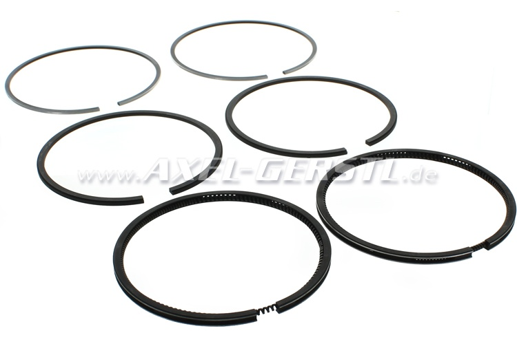 Set of piston rings (set for 2 cylinders), PREMIUM quality