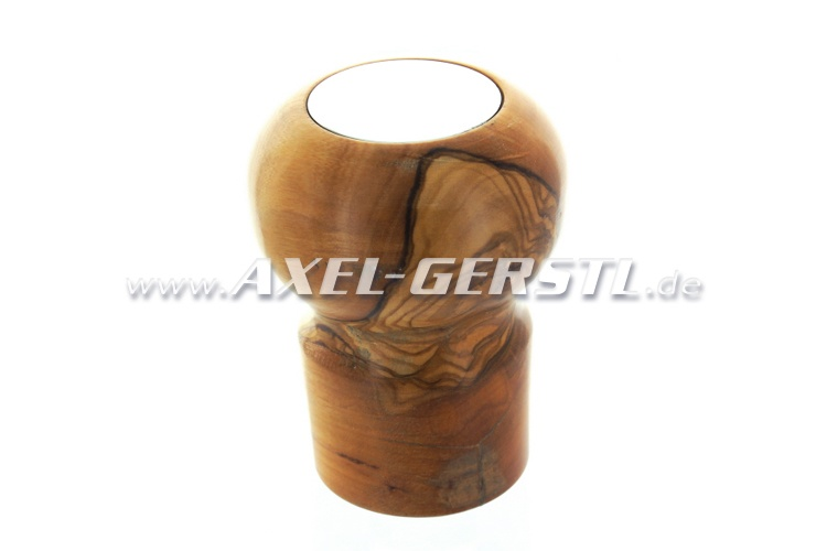 Gear shift knob, wood, type 1 - short (M19 x 1,5 mm)