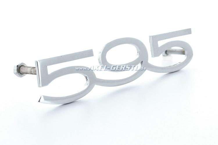 Emblème arrière 595 A-Qualité / 87 mm
