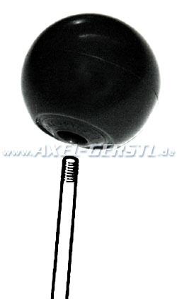 Schaltknauf (kugelförmig), schwarz