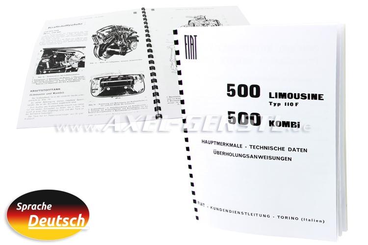 Segni principali e dati, 23 pagine, DIN A4 copiato (tedesco)