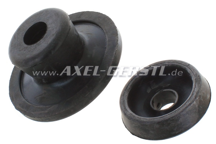 Set of rubber bearings for engine mount. (2 rubber bearings)