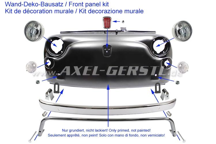 Vintage 500 front panel kit, Front panel Fiat 500 L