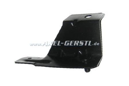 Mounting bracket right for plastic bumper, rear