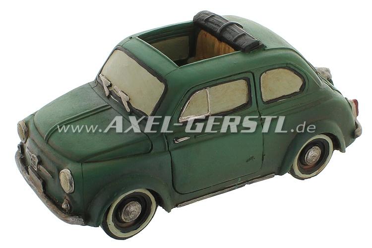 Auto modello in terracotta Fiat 500 D, 1:18, fermacarte
