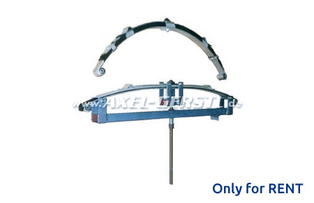 Rent per month for leaf-spring mounting tool
