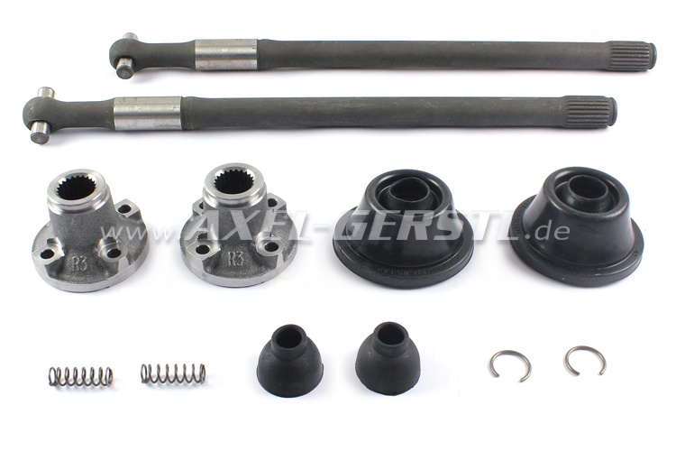 Set of drive shafts, with packings & sliding pieces, PREMIUM