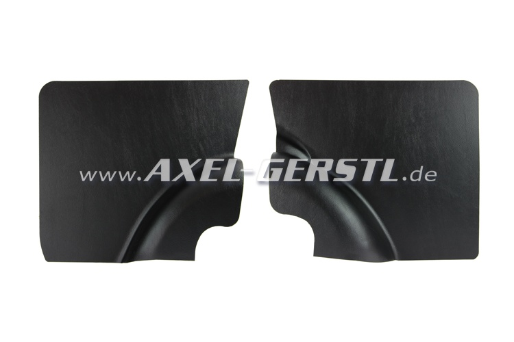 Side panel, black, rear, in pairs
