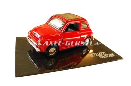 Auto modello in metallo POLISTIL Fiat 500, 1:24, rosso