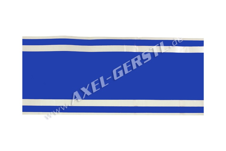 Sticker, blue stripe