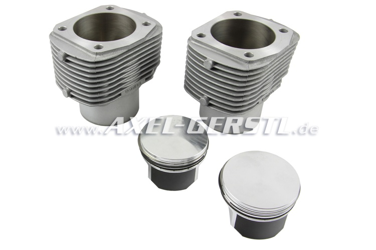 Cylinder liner 700 cc (79,5 mm), with piston & piston rings