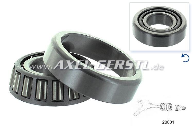 Cuscinetto ruota, interno anteriore, 43 x 20 x 13 mm