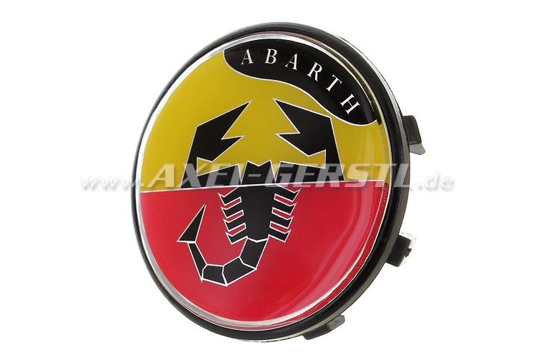 Coperchio ruota Abarth, blasone 50 mm