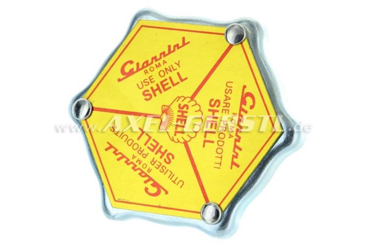 Lid for oil filler cap Giannini Shell (aluminum v. cover)