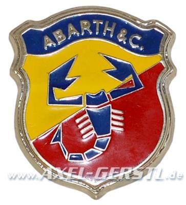 SoPo: Frontemblem-Mittelteil Abarth 70 mm, 2. Serie
