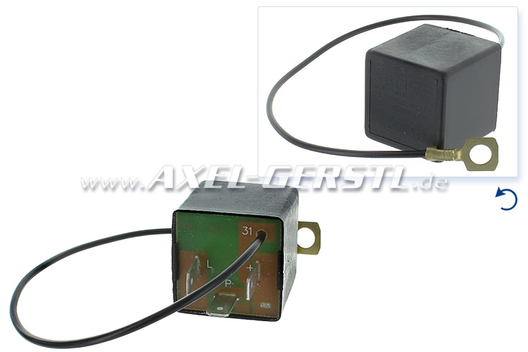 Relay for turn signal light, square, electronic