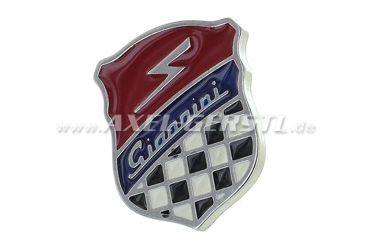 Giannini-Emblem Wappen 27 x 33 mm (zum Kleben)