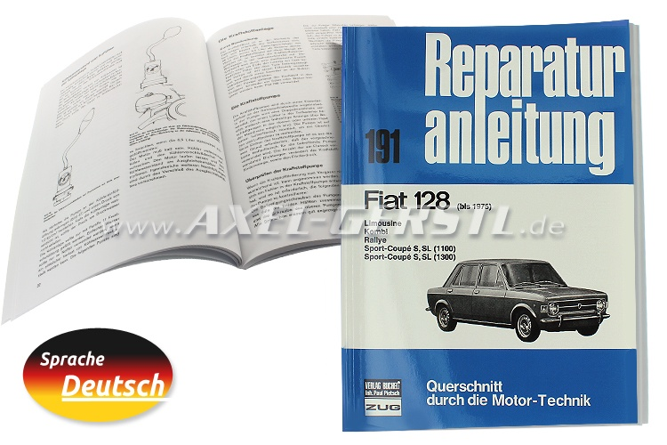Reparaturanleitung Nr. 191, Orig. Bucheli Verlag, 101 S. A4