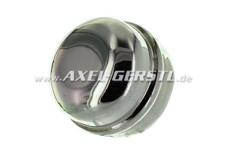 Contenitore per lubrificante per coprimozzo (34,5mm), cromat