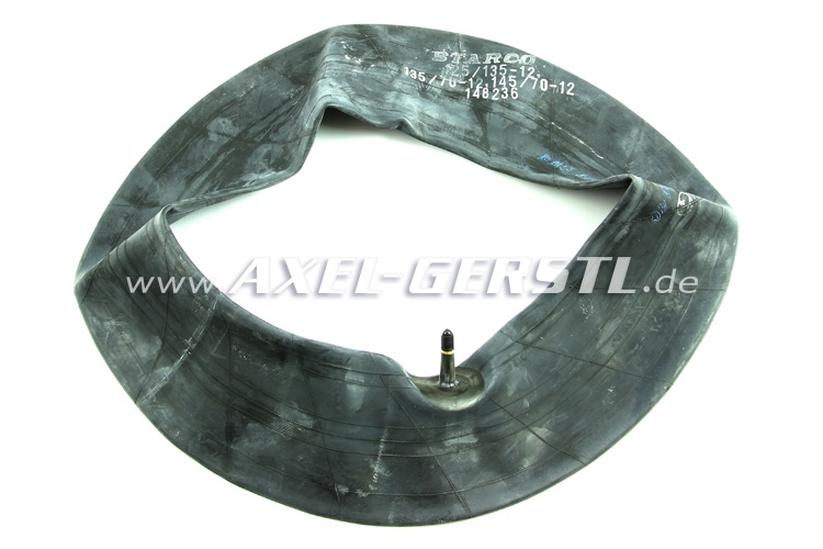 Tube for tire 125/12 - 135/12 - 145/70/12