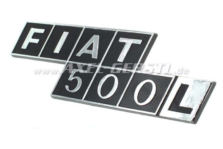 Emblema posteriore FIAT 500 L in plastica