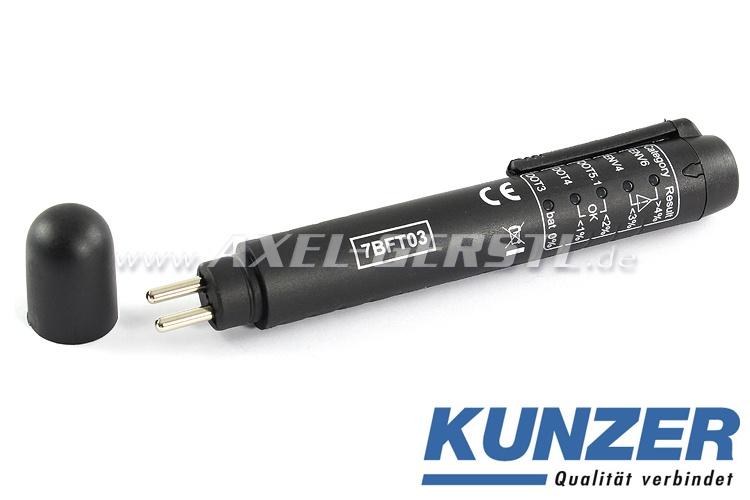 Bremsflüssigkeitstester (mit LED-Anzeige), Marke KUNZER