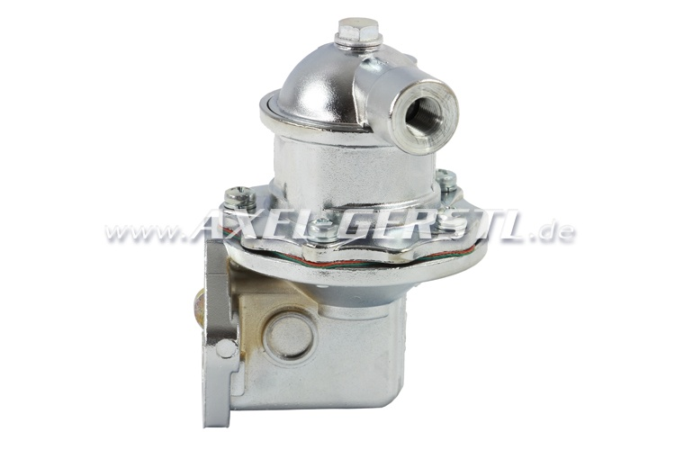Fuel pump, chrome-plated