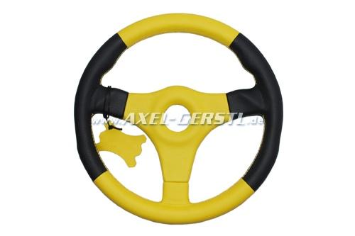 SoPo: Racing Plus II Sport-Lenkrad, Leder gelb/35